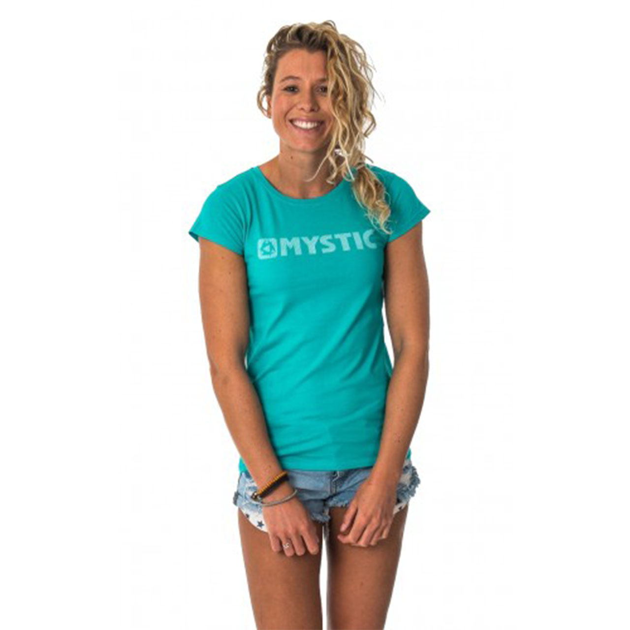 Футболка MYSTIC BRAND TEE WOMEN SEASALT ,16MY989