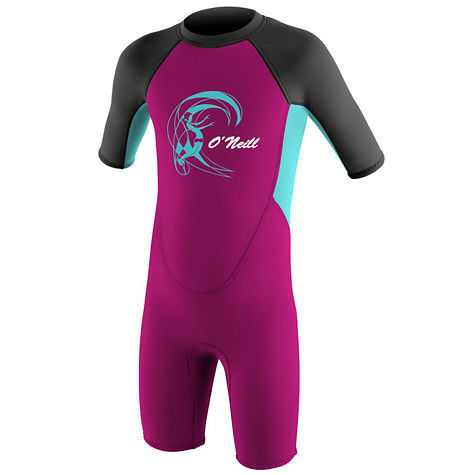 Гидрокостюм детский O'Neill TODDLER REACTOR II 2MM BACK ZIP S/S SPRING, 04ON805