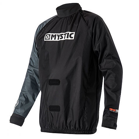 Куртка неопреновая MYSTIC Kite Windstopper Jacket Black 2018, 13MY803